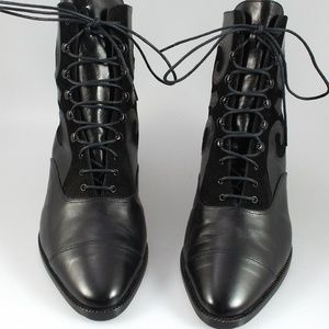 Peter Fox, Italian Designer Low Lace-up Boots